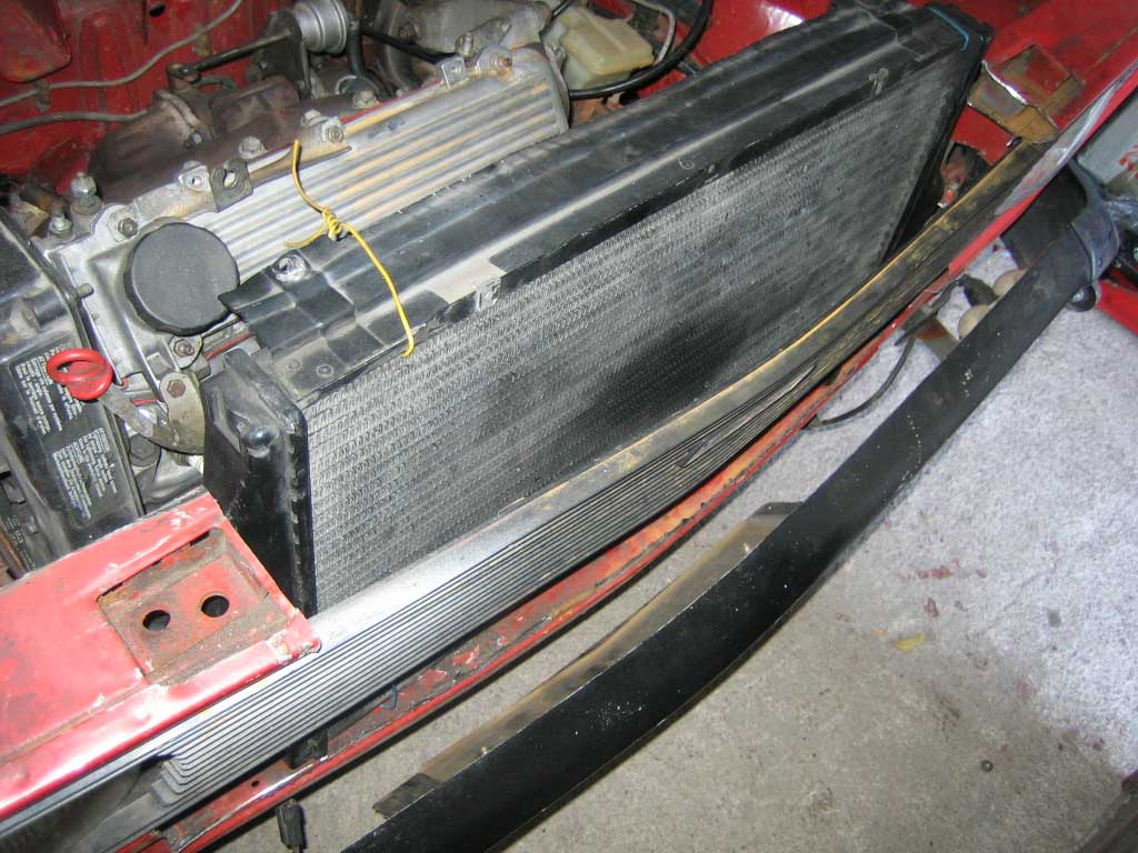 Volvo IC & Uno Turbo radiator